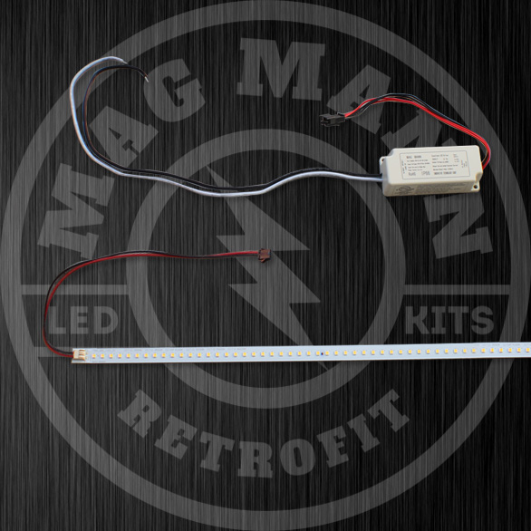 LED troffer retrofit kits